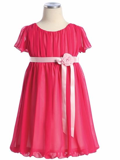 Платья для девочек из шифона