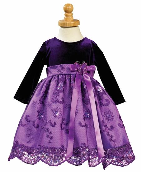 Платья для девочек из бархата своими руками